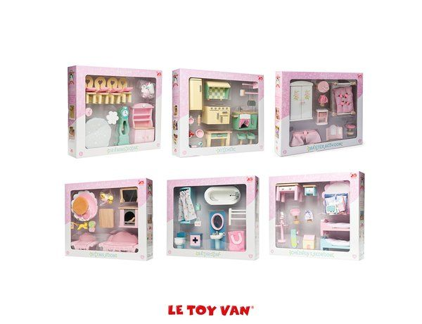 Wonderful The Daisylane Deluxe Furniture Collection Set Of 6 From Le Toy Van Gives  You A Complete