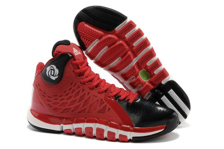 65ea4543356b adizero rose ii shoes cheap black and red shoes