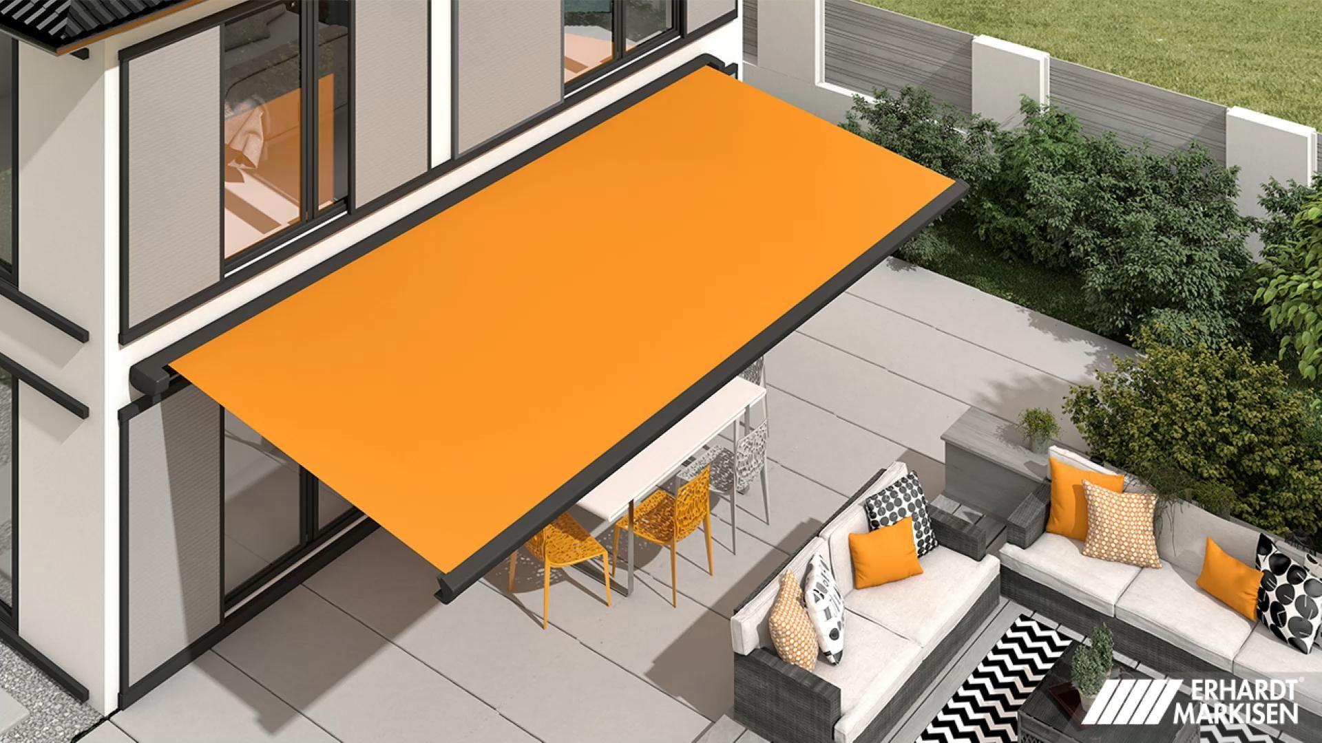 Moderner Sonnenschutz für die ersten Sonnenstrahlen