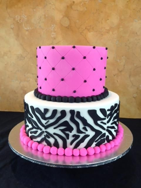 Baby Shower Cake via Craftsy