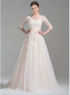 5dbe1476ec9e Billig Bröllopsklänning, Brudklänningar, Brudklänningar, Sweetheart,  Bröllop, Förlovning, Paljetter, Hårrosetter