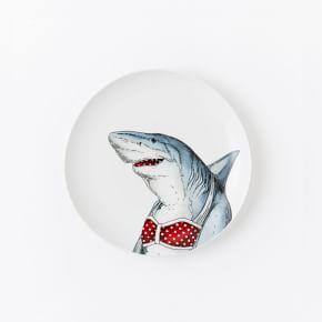 Dapper Animal Salad Plates #west elm