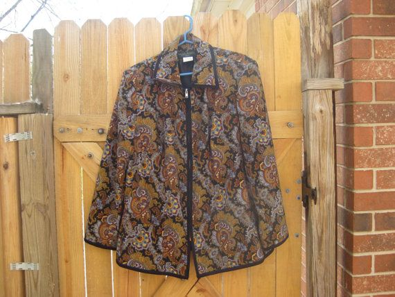 This is a Harve Bernard Jacket with a Fantastic by PatsyTexasRose