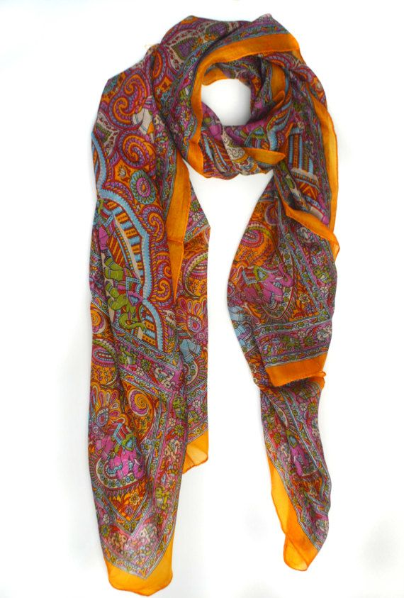 Romantic Floral Scarf Men Women Fashion Print Mens Scarves Autumn Winter Cotton Scarf Casual Pocket Square For Party Gifts Adult Wrap Men's Scarves