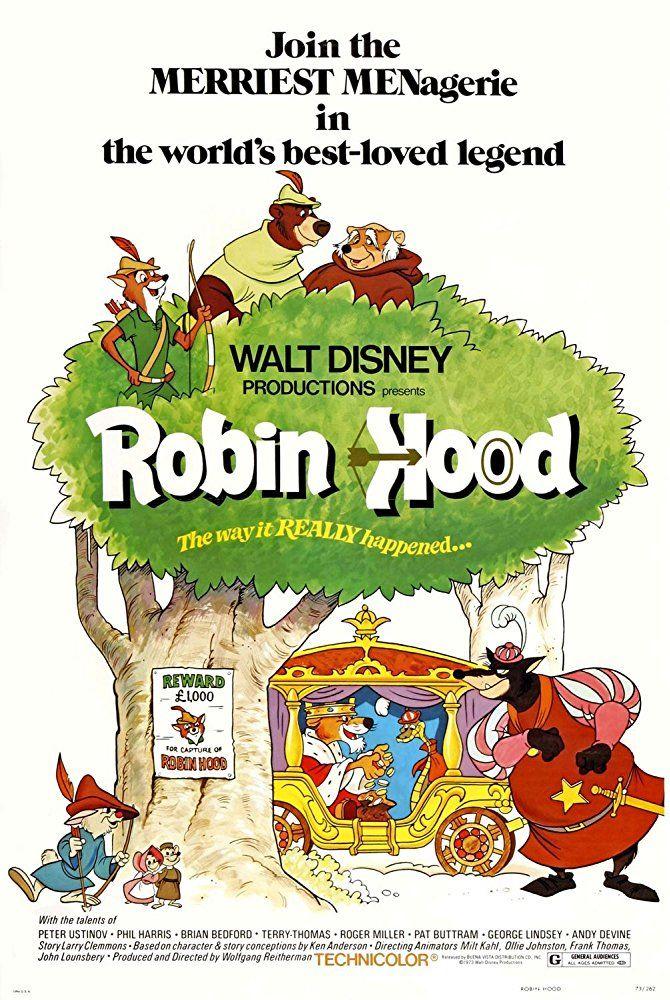 Disney's Robin Hood (1973) in 2019 Disney movie posters
