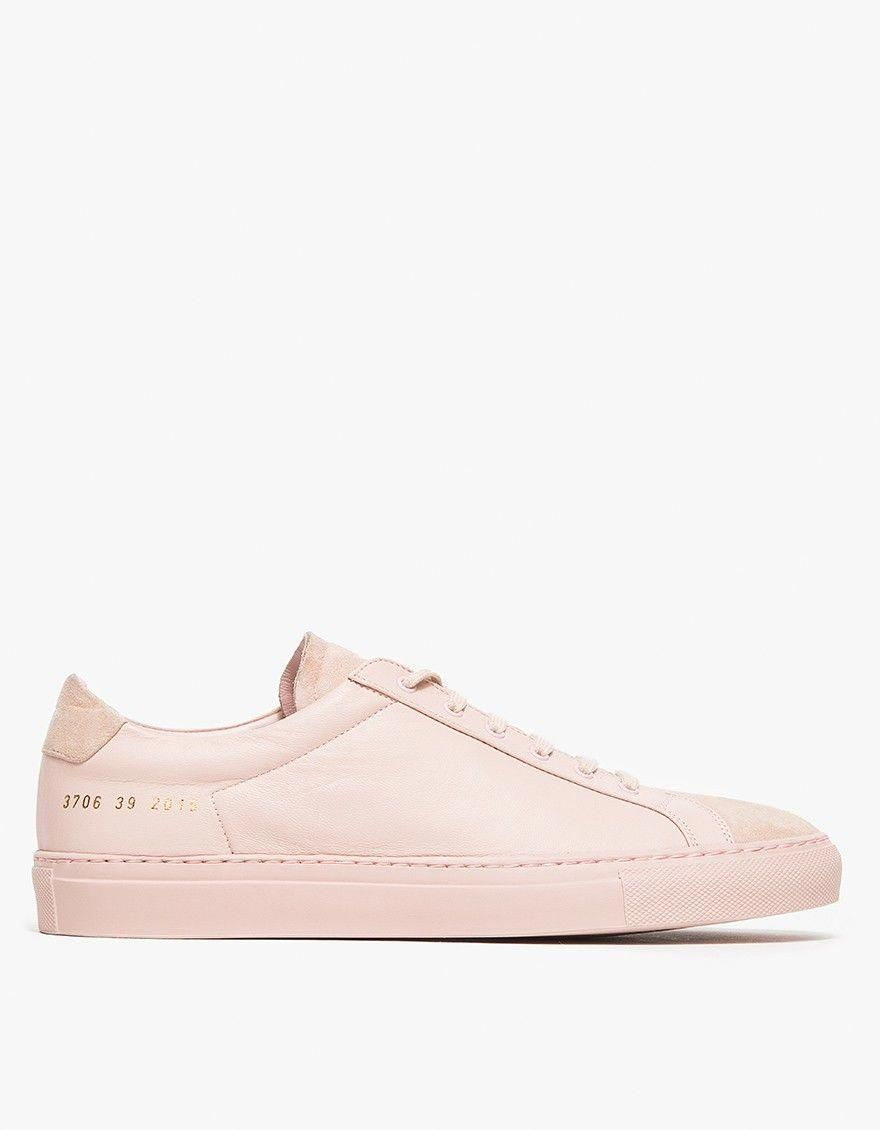 127277ce9b Common projects Achilles Premium Low in Pink (blush)
