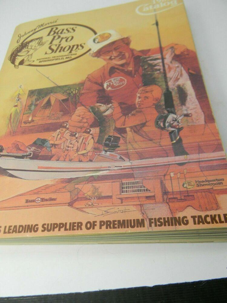 1982 Bass Pro Shops Catalog Vintage Sporting Goods