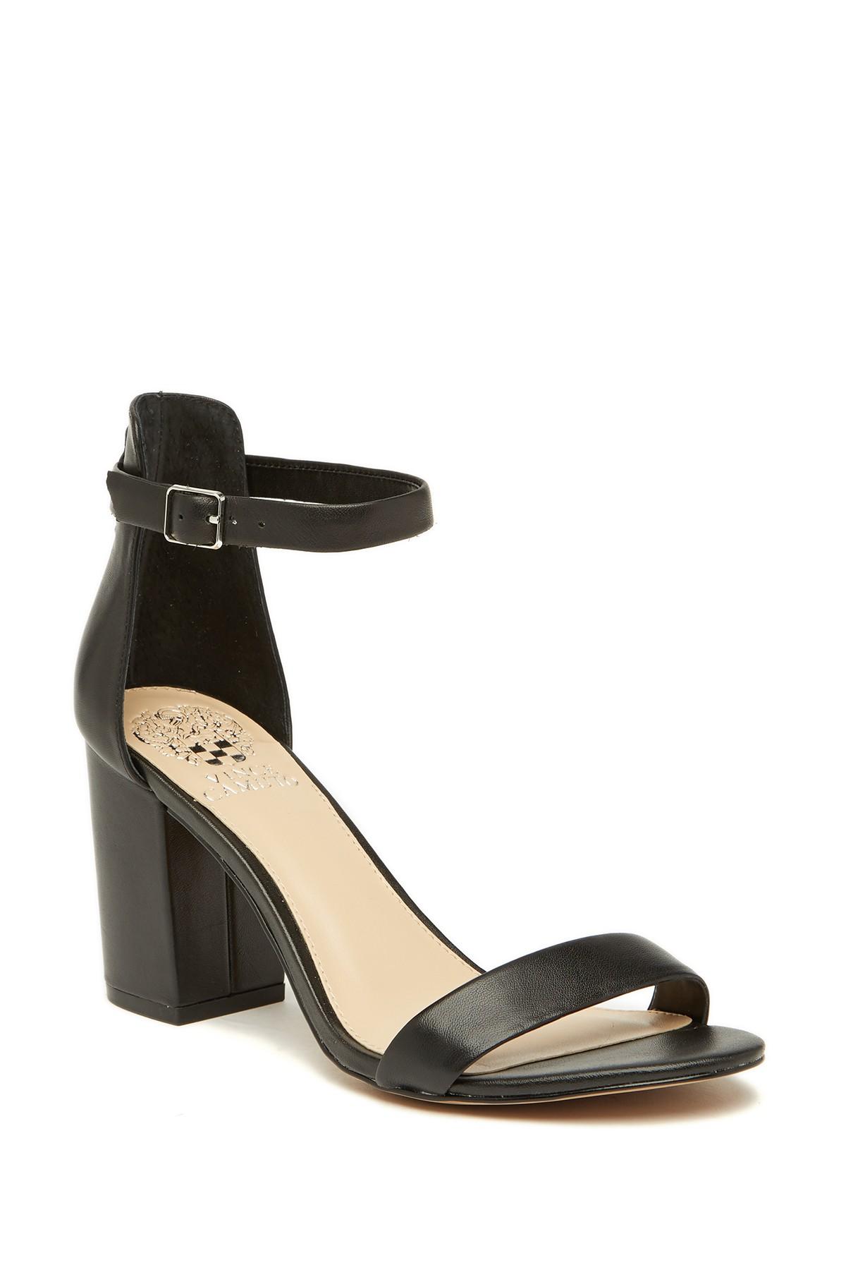 Beah Block Heel Ankle Strap Sandal