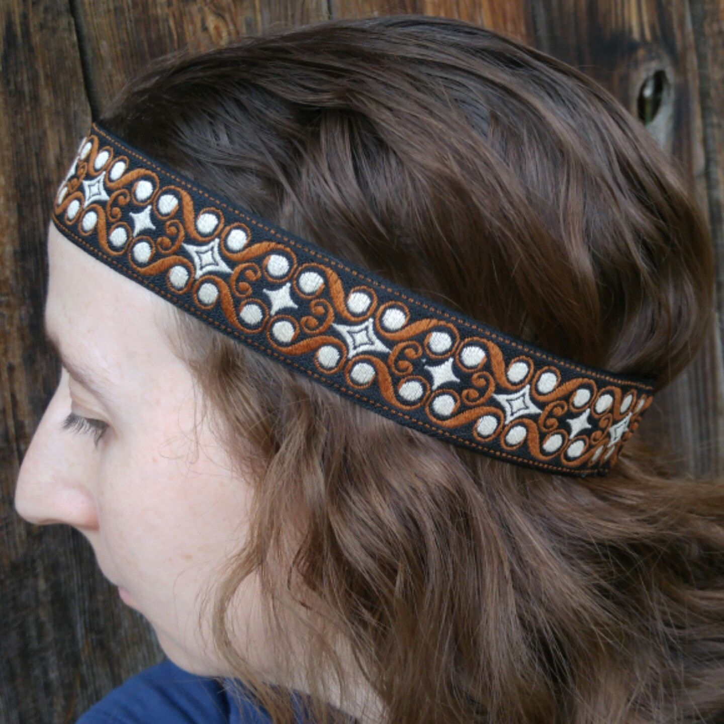 Boho style mens hippie headband perfect for sunmer festivals 69024b47673