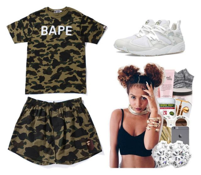 bape shorts women