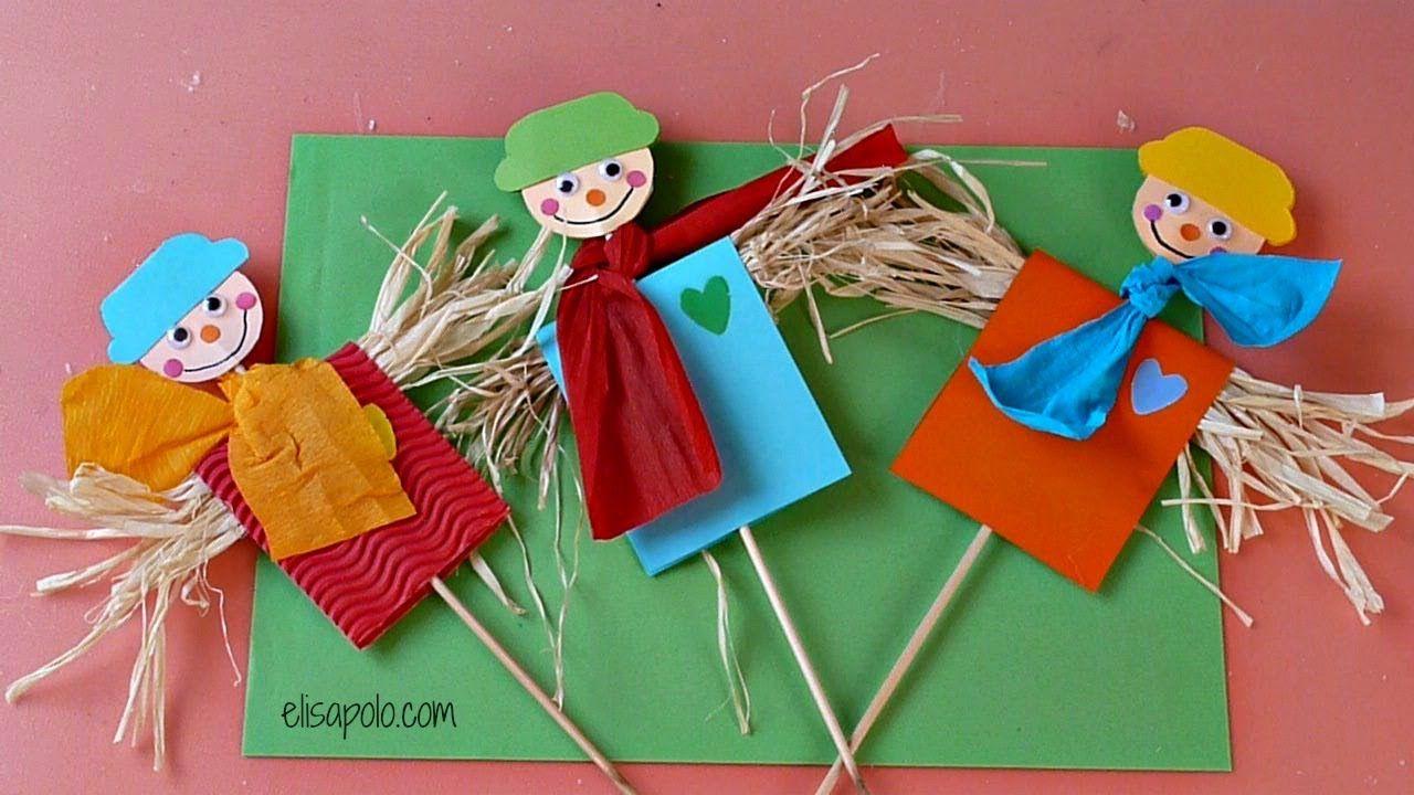 DIY, Cómo hacer un Espantapájaros, Scarecrow.   Pachy Cumpleaños ...