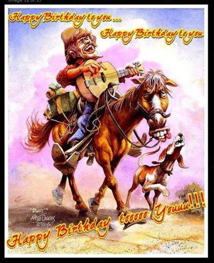 Happy Birthday cowboy | Any body know what day dis is?? | Cowboy