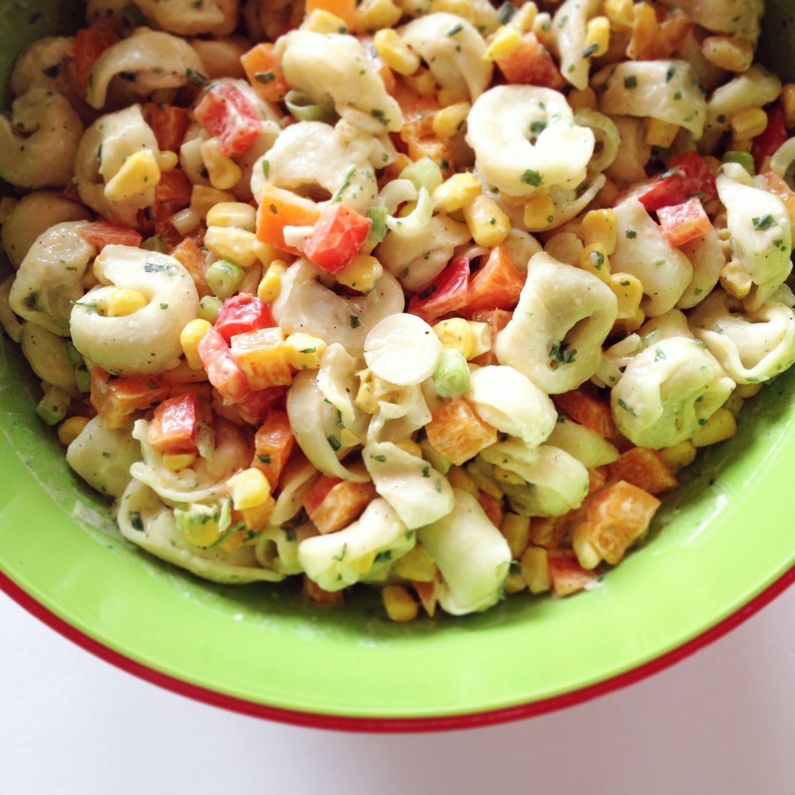 m dchenkram gegessen tortellini salat rezept vegan vegetarisch vegan pinterest. Black Bedroom Furniture Sets. Home Design Ideas