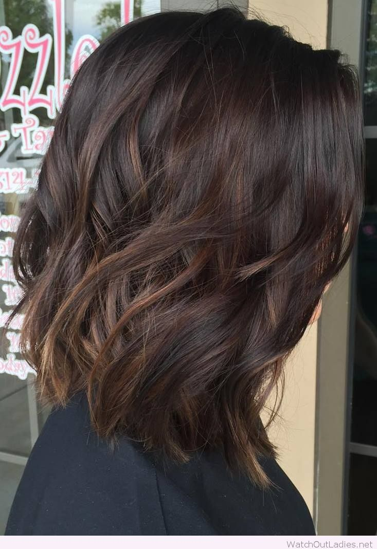 2 Medium Dark Brown Hair With Subtle Balayage Hair Love