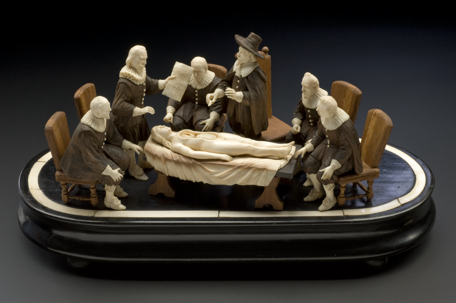 Model of Dr Tulp\'s Anatomy Lesson, Europe, 1701-1800 | History of ...