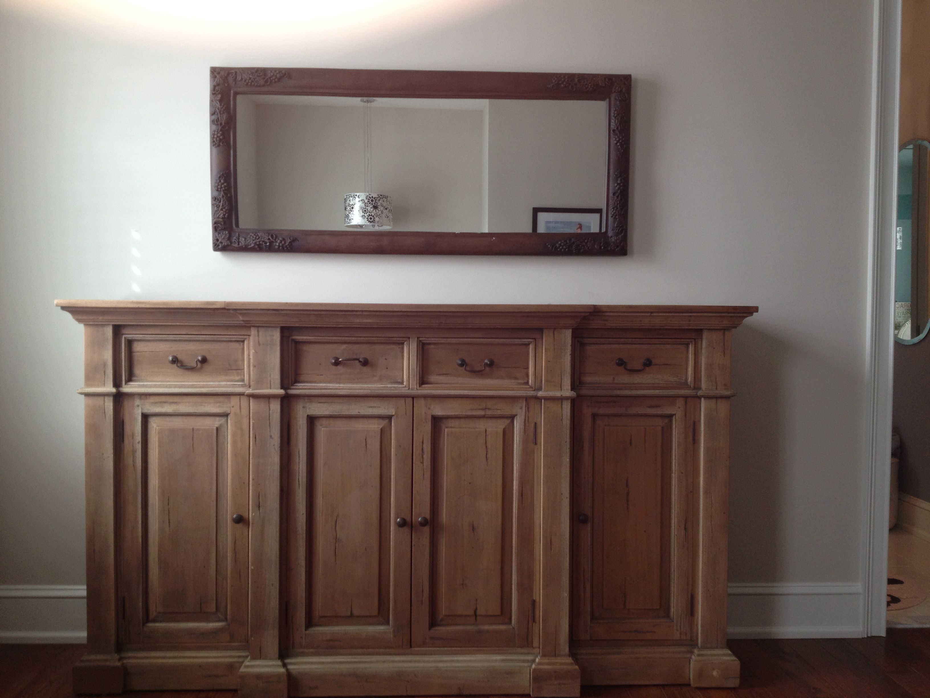 Mahogany Sideboard In Driftwood Finish From Platypus