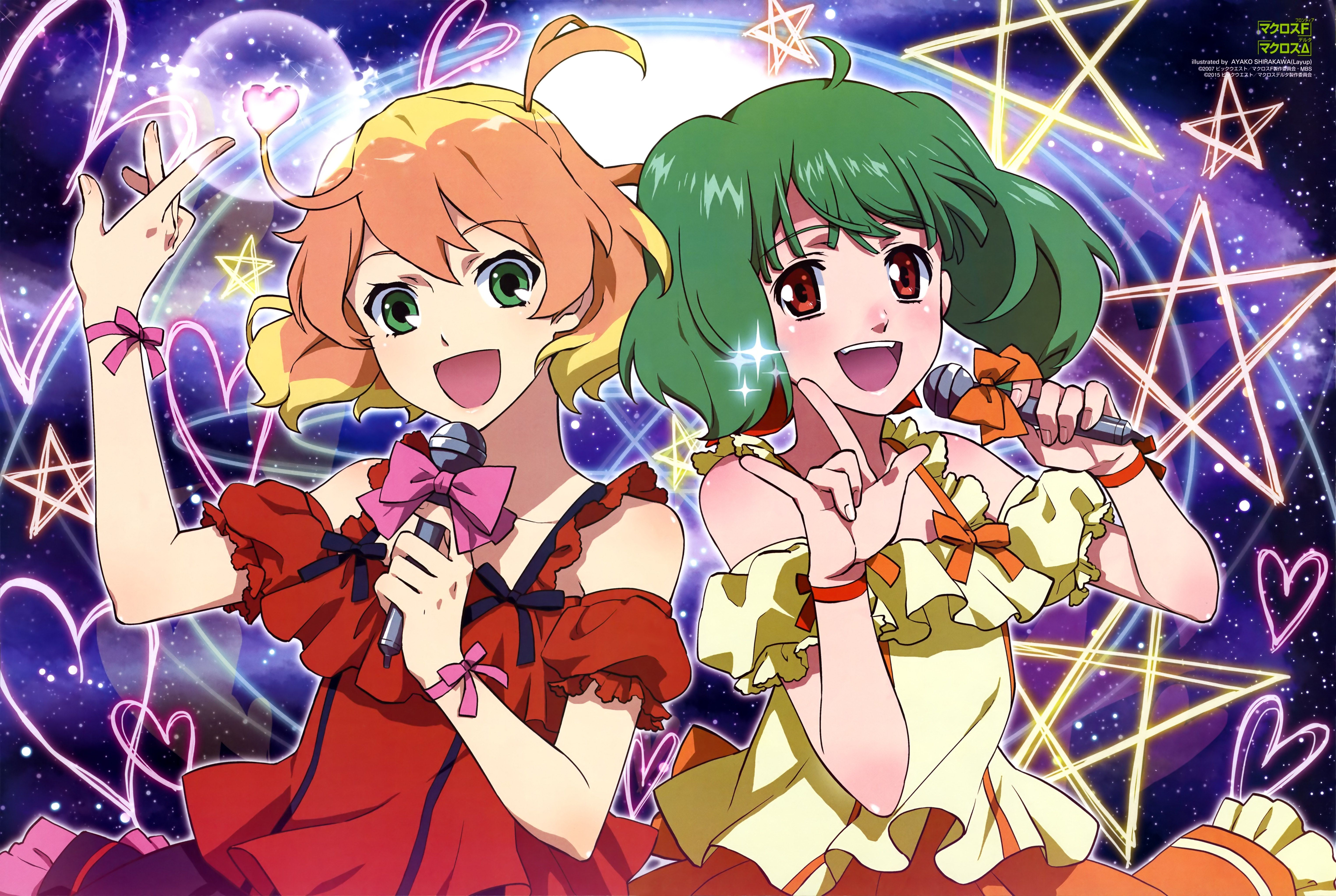 Macross Frontier Free For Desktop 6101x4093 構図 イラスト 要塞