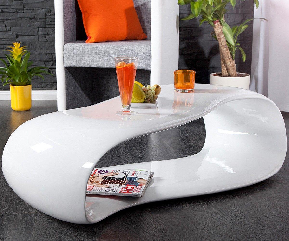 couchtisch segatus 120x60 cm weiss hochglanz futuristic furniture modern coffee tables