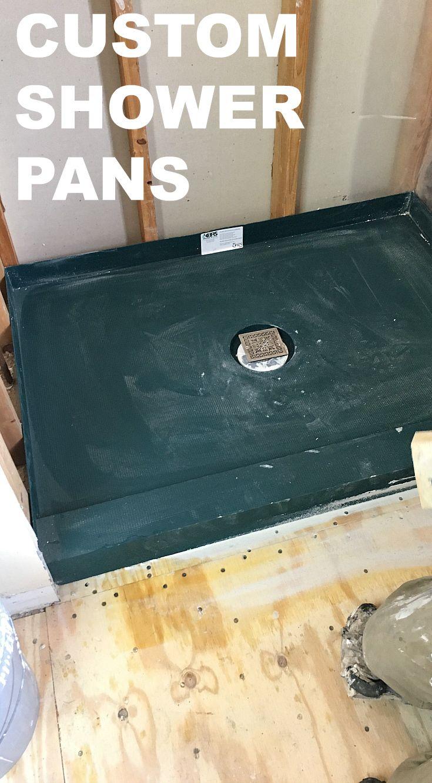 Custom Shower Pans How To Install The Kbrs Tile Basin Custom