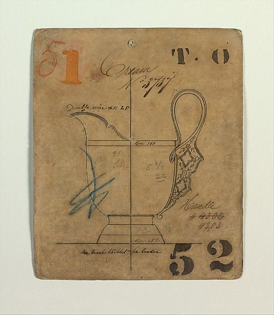 Cream No 3737 -  Tiffany & Co. - ca. 1874