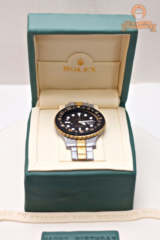 Rolex Cake Cake Decorations In 2019 Cake 50th Cake