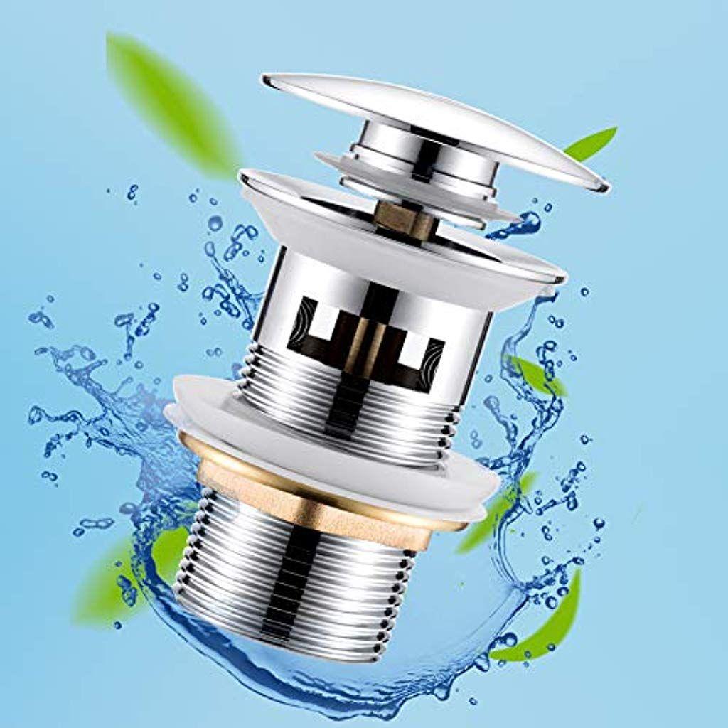 Universal Ablaufgarnitur mit Überlauf für Waschbecken