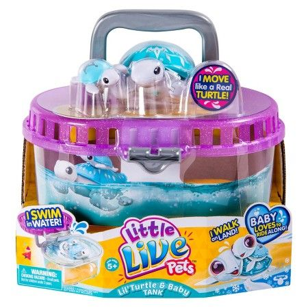 Little Live Pets Season 4 Lil Turtle Tank Target For