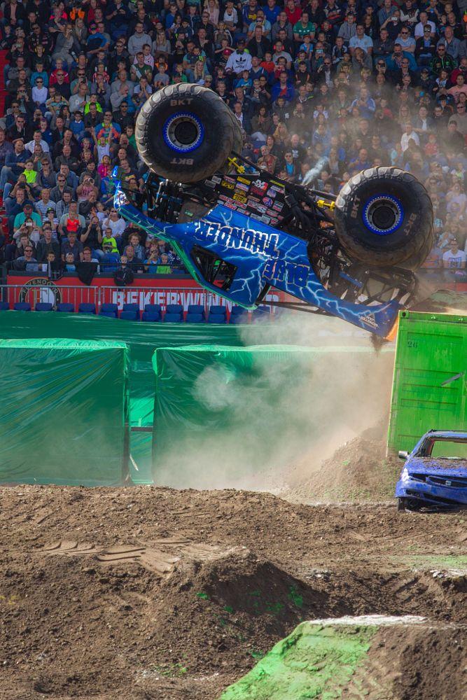 monster jam 2016 by Martijn Eilander on 500px