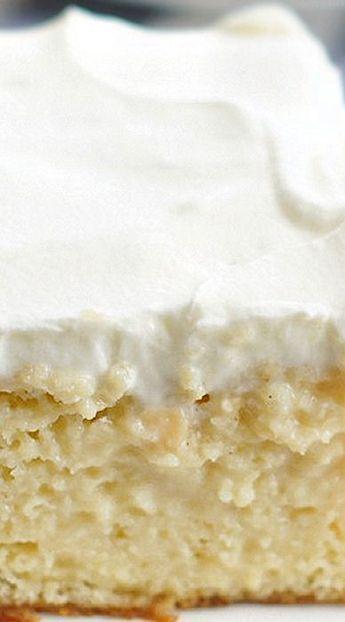 Tres Leches Cake – 5 Boys Baker