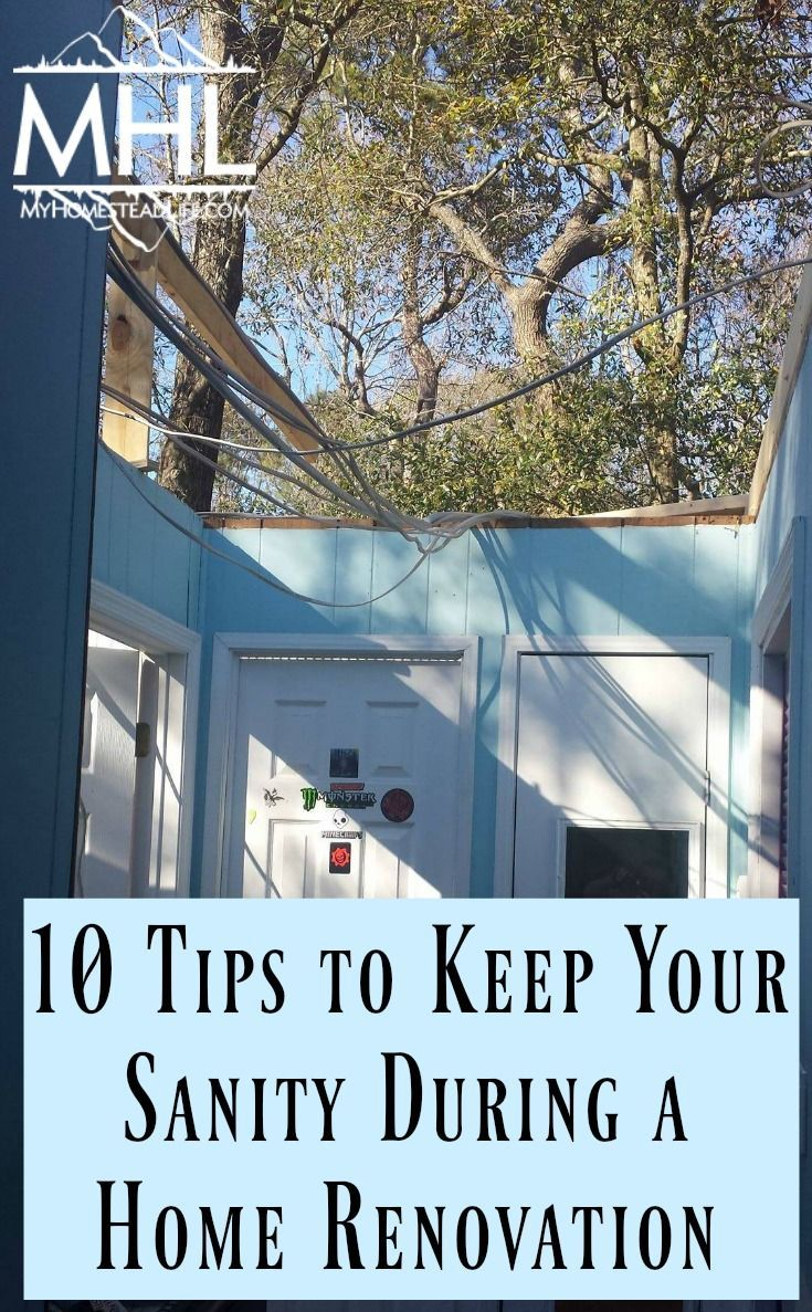 10 Tips to Keep Your Sanity During a Home Renovation is part of home Renovation Quotes - 10 Tips to keep your sanity during a home renovation and construction  These tips could quite possibly save your marriage and keep the family happy