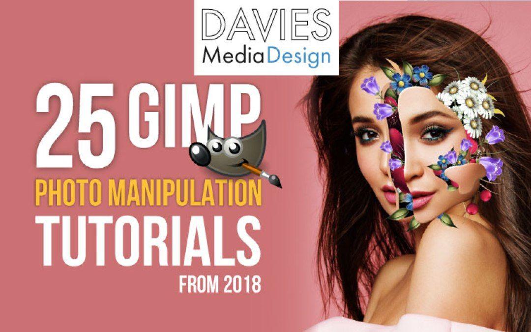 25 GIMP Photo Manipulation Tutorials From 2018 Photo