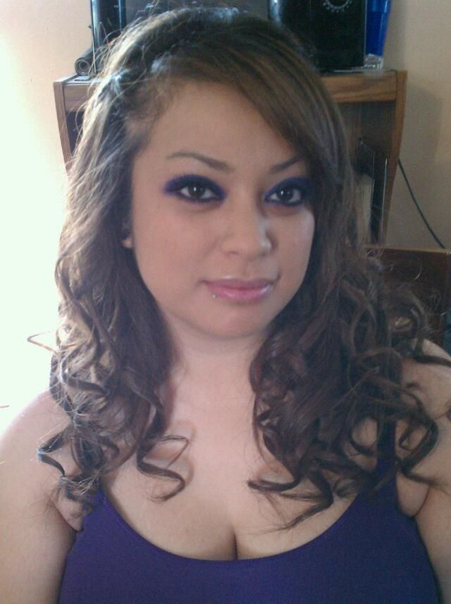 Did my sister hair/makeup for a wedding. :)