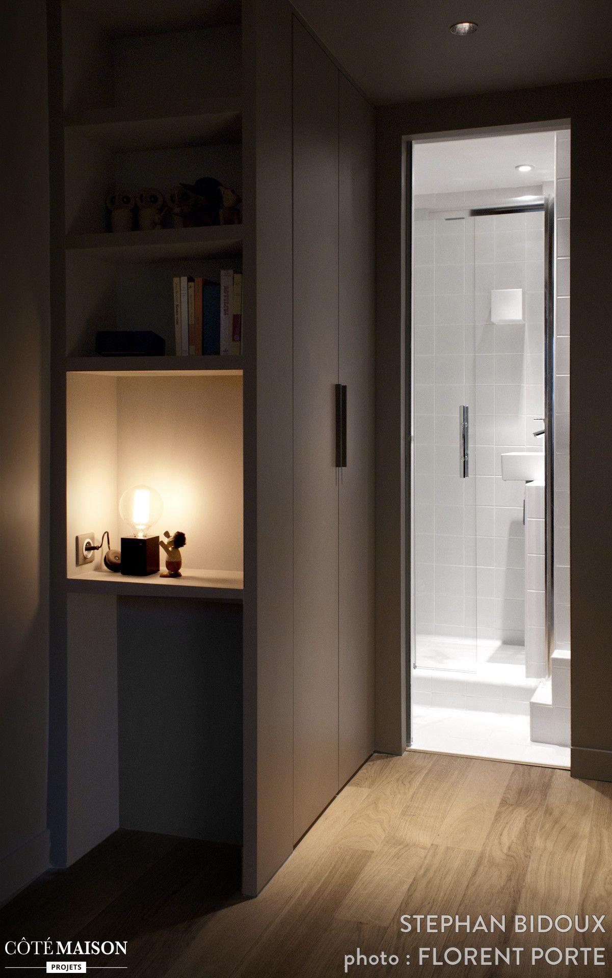 r novation d 39 un studio de 13 m2 paris stephan bidoux c t maison inspiration entr e. Black Bedroom Furniture Sets. Home Design Ideas