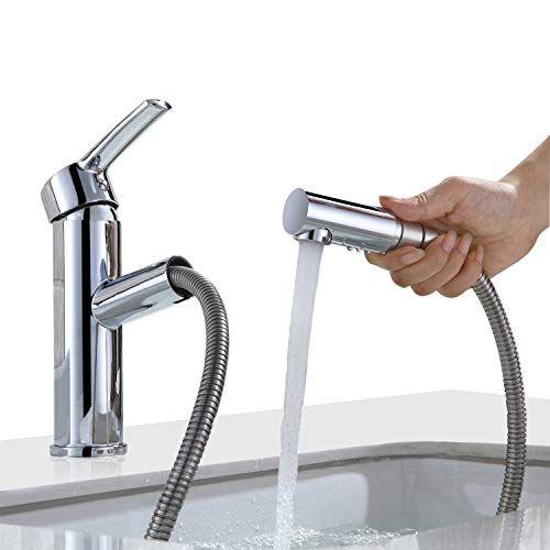 Homelody Armatur Bad Wasserhahn mit ausziehbarem Brause