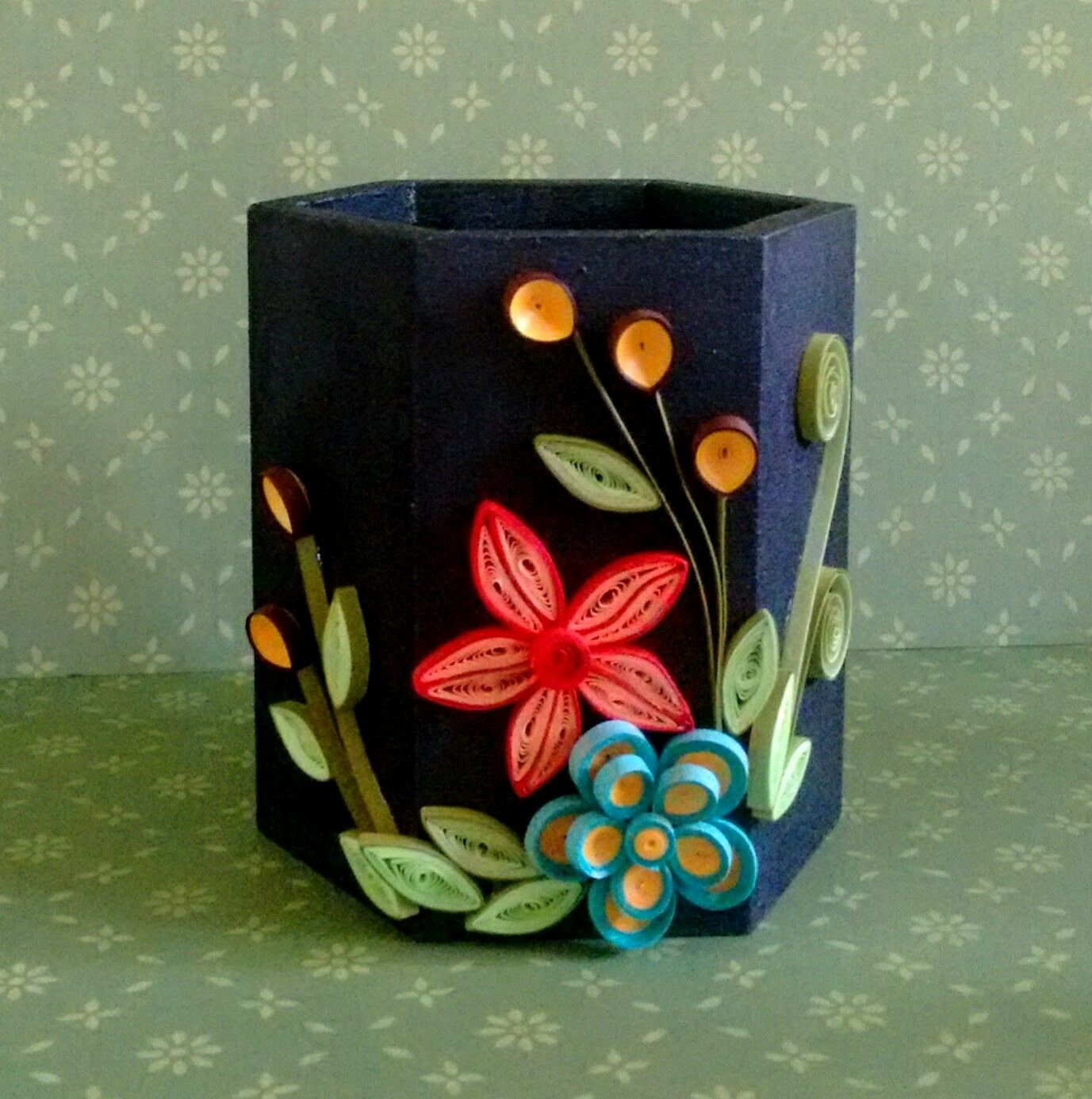 Pen Stand Crafts2dio Paperquilling Paper Quilling Designs