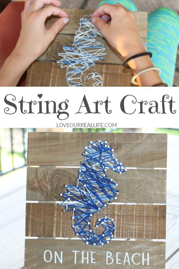 String Art Project: The Complete Beginner\'s Guide   Fashion , Life ...