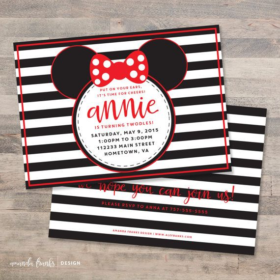 Red minnie mouse birthday party invitation by afranksdesigns red minnie mouse birthday party invitation by afranksdesigns solutioingenieria Choice Image