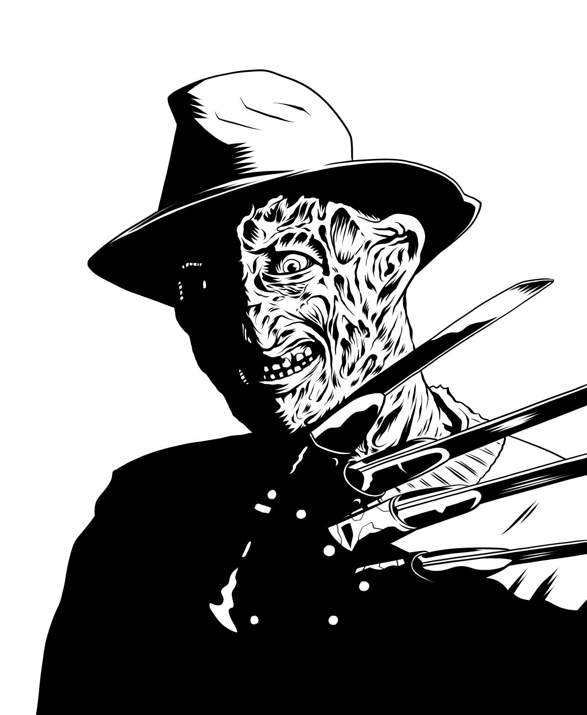 Pin By Larry Kaelin On Gif Freddy Krueger Freddy Krueger Art Freddy Krueger Drawing Horror Characters