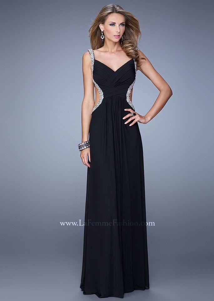 23bec9c4d26 La Femme 21123 Jeweled Party Dress   ✱ la femme long dresses ...
