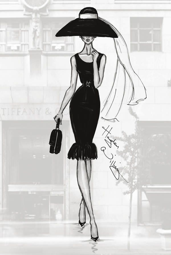 Photo of 12 Stunning Fashion Sketches by Hayden Williams