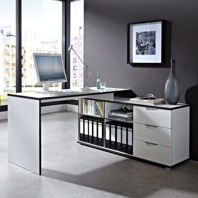 3 Drawer Writing Corner Desk Wayfair Uk Escritorios Arquitectura Moderna Arquitectura
