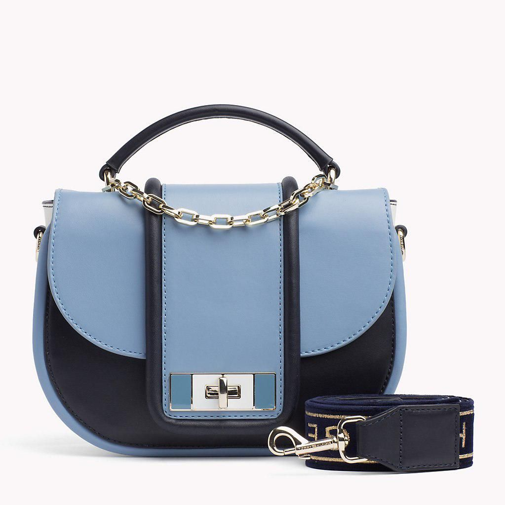 9361b2e871d Women's Blue Th Fancy Leather Crossover Bag in 2019 | shoulder bags ...
