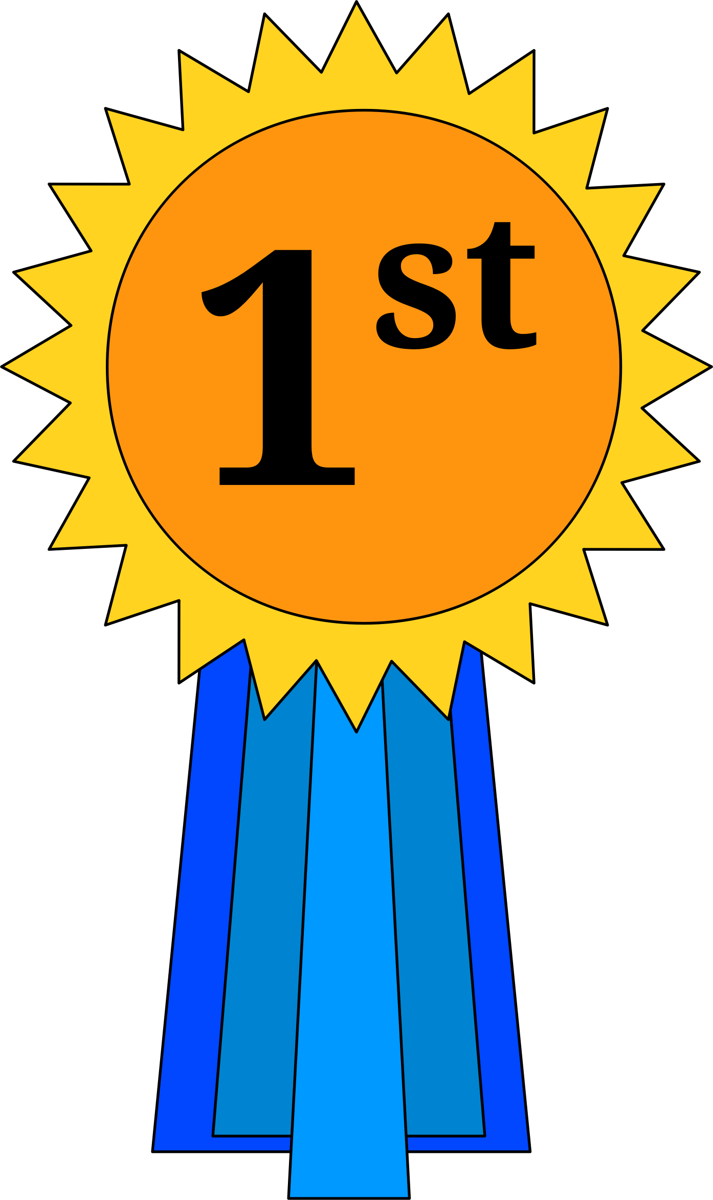 1st Place Ribbon With Images