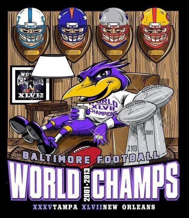 Champs Baltimore ravens football, Ravens football