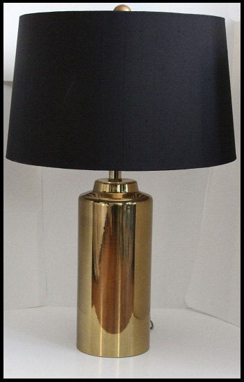 Black And Gold Lamps