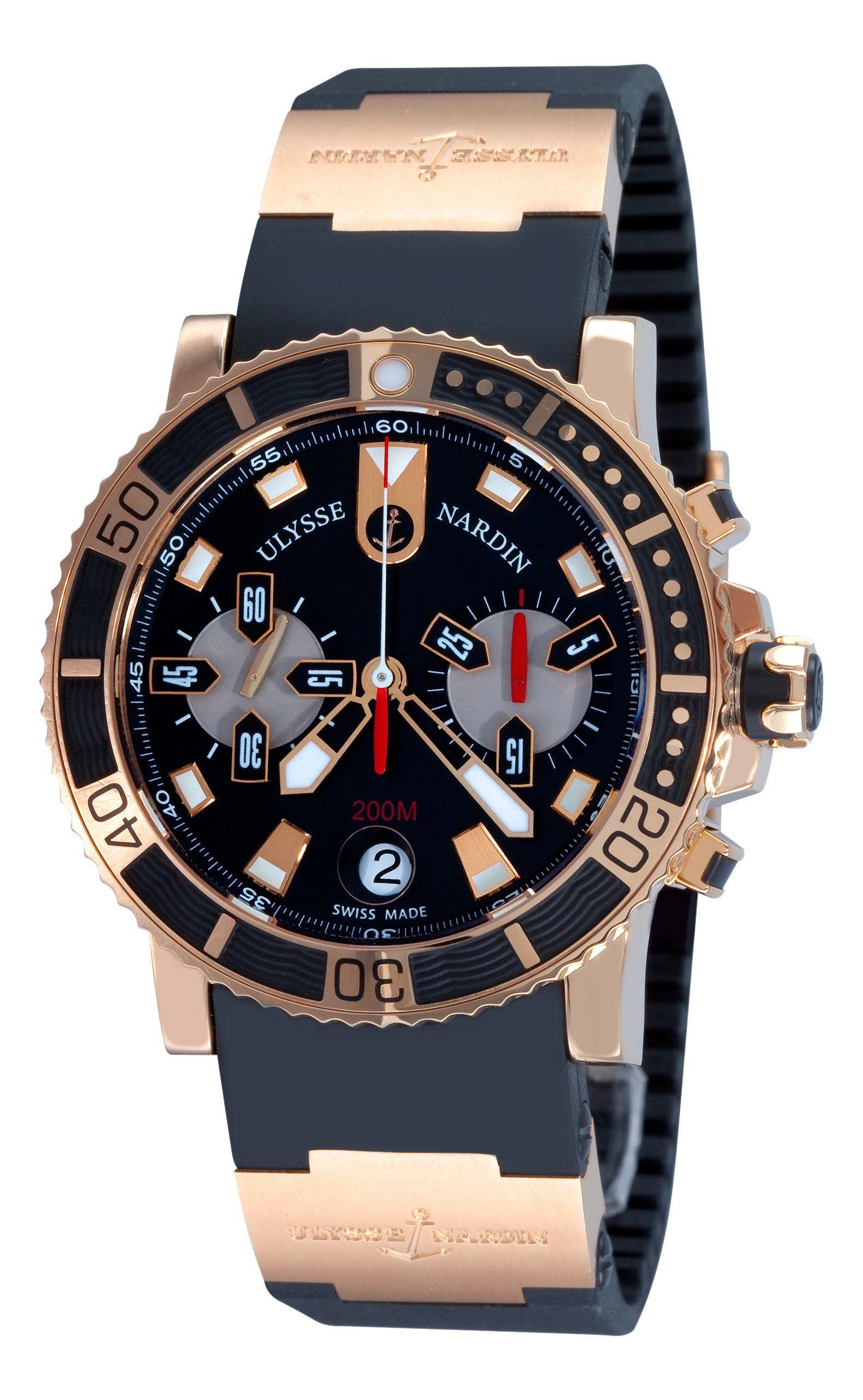 Amazon Com Ulysse Nardin Men S 8006 102 3a 92 Maxi Marine Diver