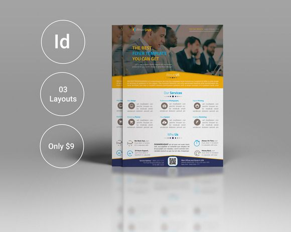 Corporate Flyer Latest Adobe Photoshop Flyer Template And