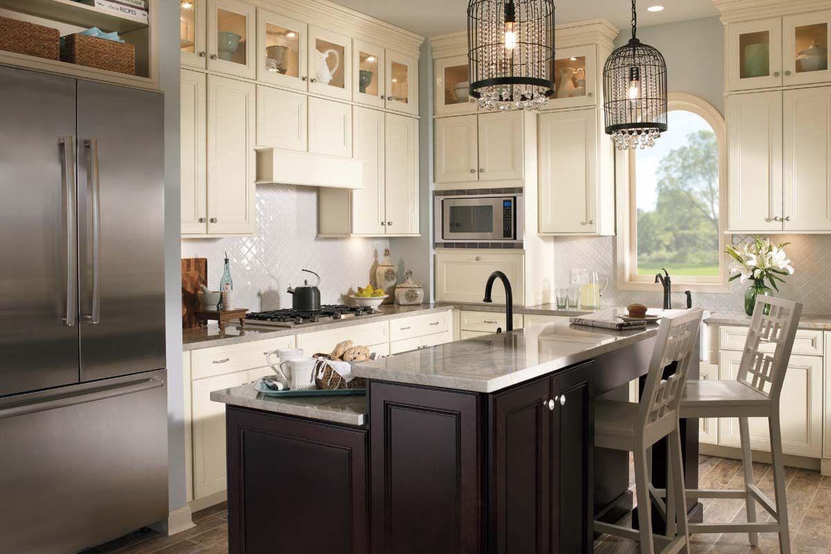 Waypoint Living Spaces Traditional Kitchen Remodel Kitchen Design Gallery Merillat Kitchen Cabinets