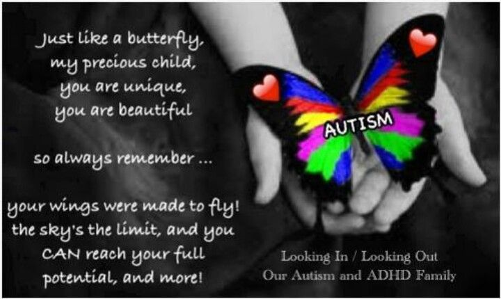 Just Like A Butterfly Quotes Sayings Regarding Autism