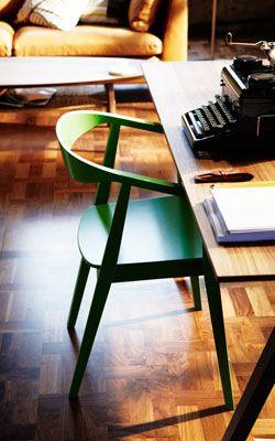 Ikea Stockholm Tisch stockholm stuhl in grün an stockholm tisch aus nussbaumfurnier
